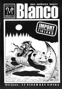 Blanco - 22 Venomous vipers ( self-published, FIN 2003)