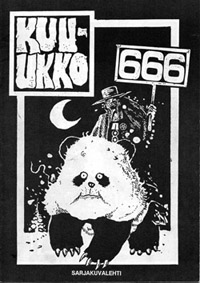 Kuu-ukko (self-published, FIN 1992)